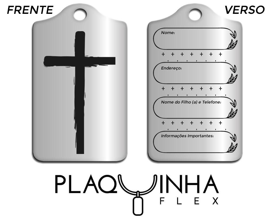 ❤ Especiais Mod. 005-9 - Aço Inox