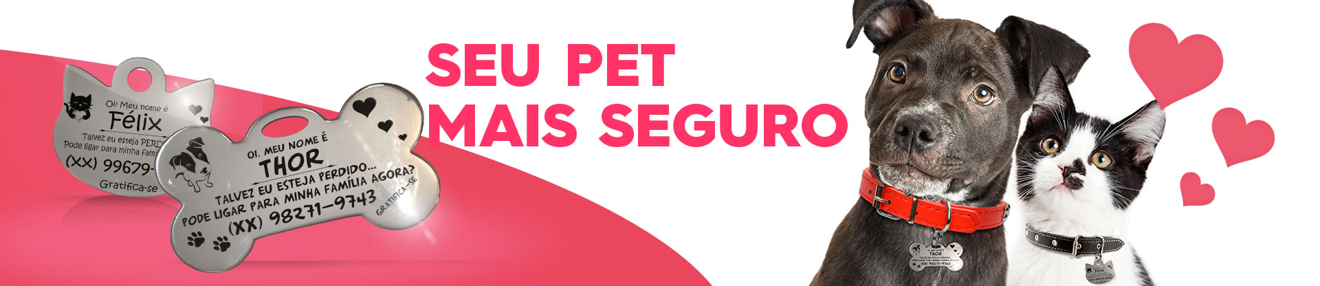 PlaquinhaFlex para Pets