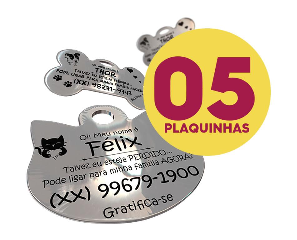 ❤ Combo 5 Plaquinhaflex