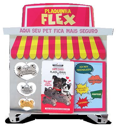 Tendinha PlaquinhaFlex